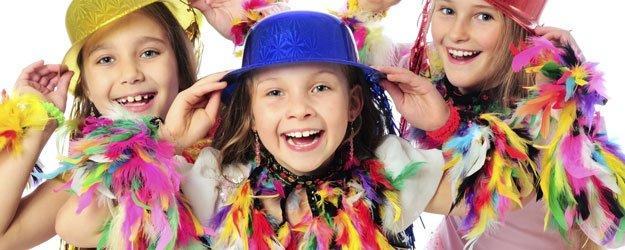 Carnaval y los niños