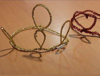 Coronas de rey y reina