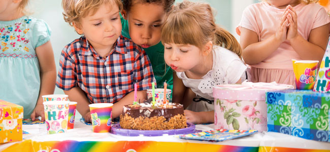 Cumpleaños feliz, cumpleaños feliz...ideas para celebrar el cumpleaños de los niños