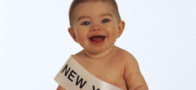 Bebé año nuevo