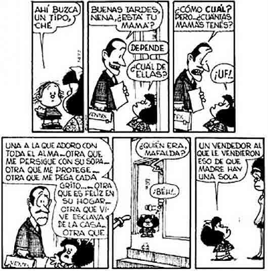 Mafalda y el día de la madre