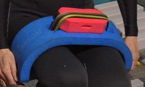 Cinturón con un corcho