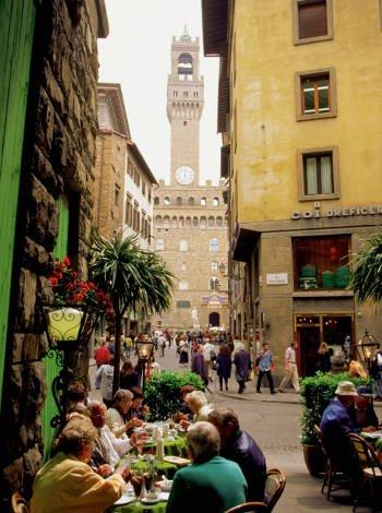 Comer en Florencia