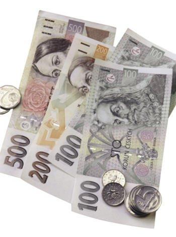 Coronas checas, moneda de Praga