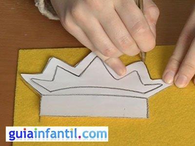 Diadema princesa paso 1