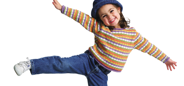 El baile moderno en niños