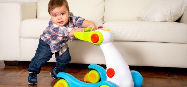 El andador de los bebés