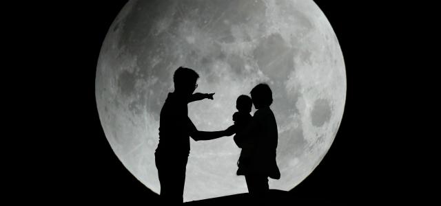 El ciclo lunar para niños