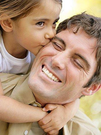 El afecto entre los papás y los hijos