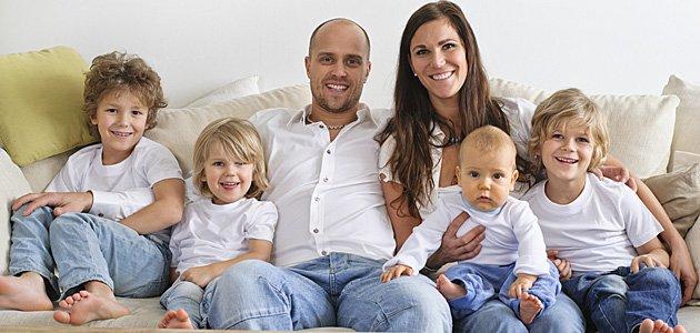 Cómo educar a los niños de familia numerosa