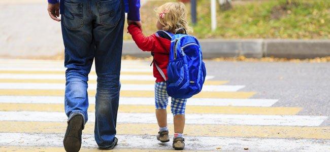Los primeros días de colegio de los niños