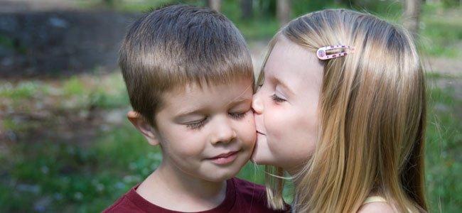 Cuando los niños se enamoran