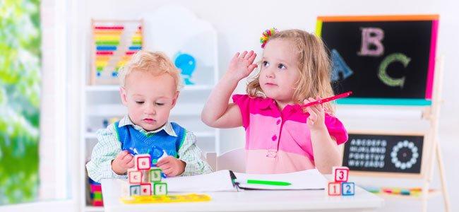 Bebés estudian