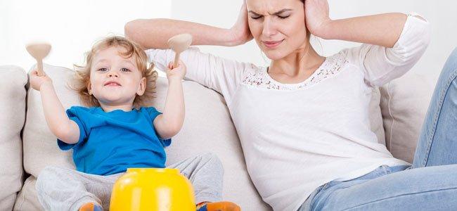 Niños que no paran de hacer ruido