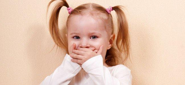 Cuando los niños dicen palabrotas