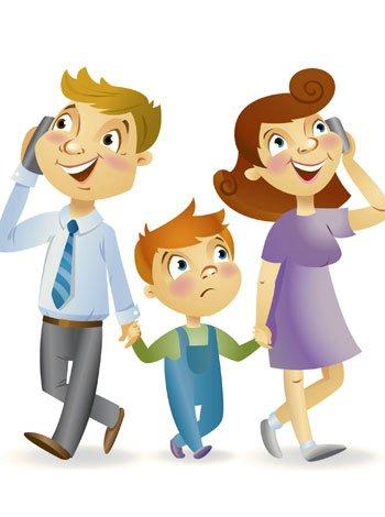 La falta de tiempo de los padres a los hijos
