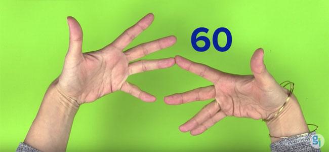 Truco para multiplicar con las manos