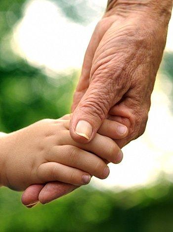 Abuelos-canguros y abuelos-guarderías