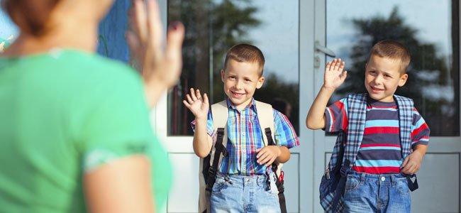 La adaptación de los niños al colegio