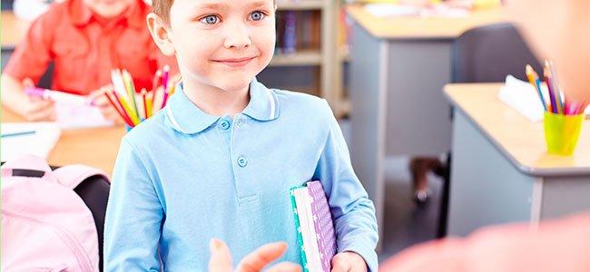 La agenda escolar de los niños