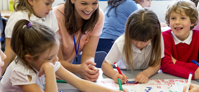 Ventajas del aprendizaje colaborativo para los niños