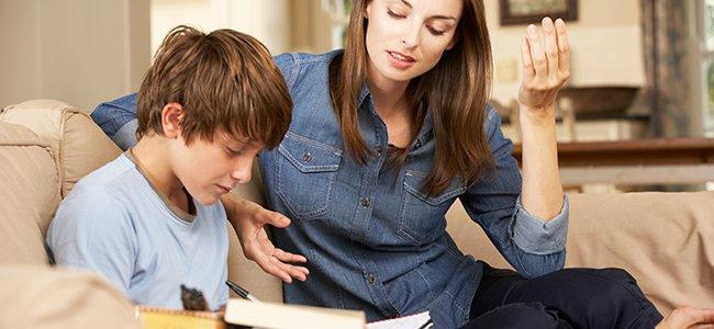 Ayuda a tus hijos con los deberes