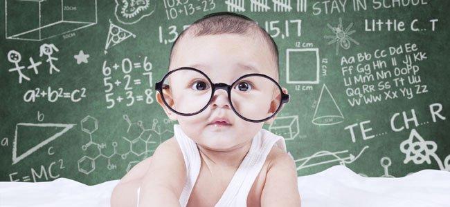 ¿Puede un bebé ser superdotado?