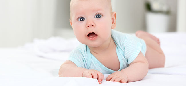 El bebé no puede ser hiperactivo