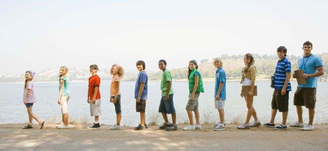 Campamento en el extranjero para niños