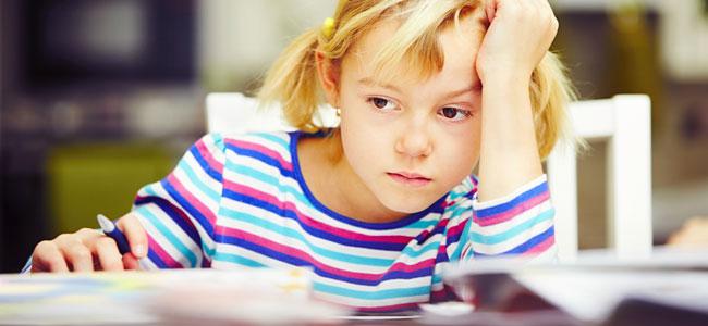 Cansancio mental en niños