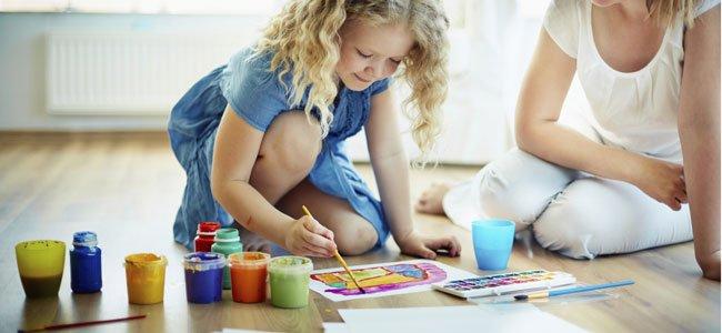 Qué aprenden los niños en casa