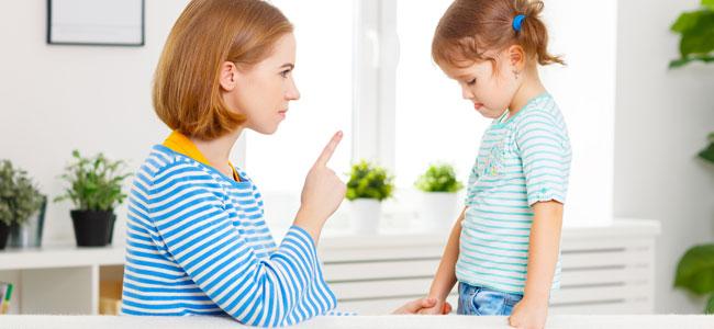 Castigar a los niños según su edad