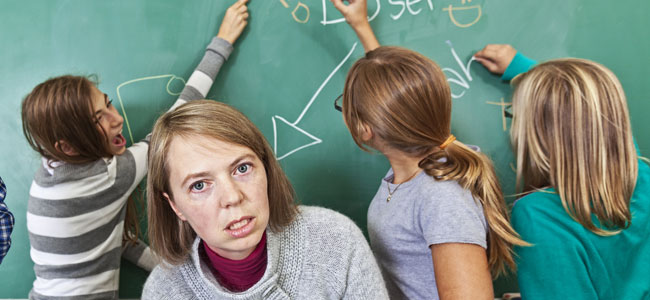 Cómo controlar a mis alumnos