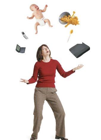 Cosas que pasan cuando eres mujer trabajadora y madre