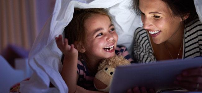 No dejes de contar cuentos a tus hijos