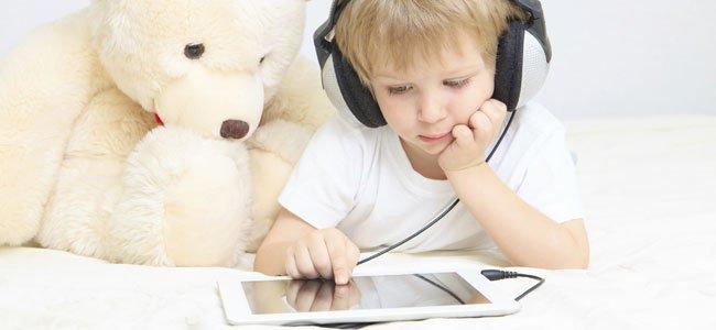 Problemas en niños por usar pantallas dáctiles