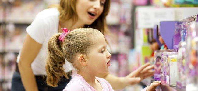 Por qué no dar a los niños todo lo que piden