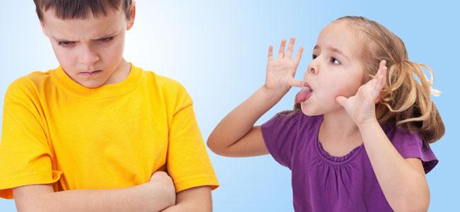 Defenderse de las palabras ofensivas en la infancia