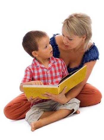 Hablar con los niños es mejor que hablar sólo a ellos