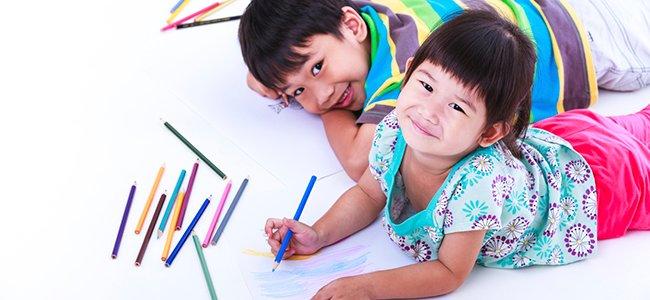 Las etapas en el dibujo infantil