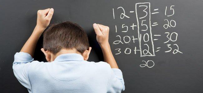 Discalculia o problemas para razonar las matemáticas