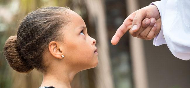 consejos para evitar educar a los niños con amenazas
