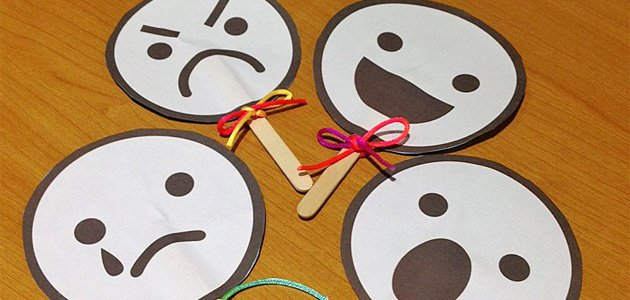 Caritas para que los niños aprendan las emociones