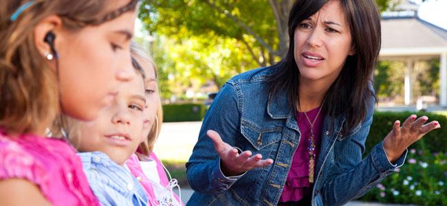 cómo lograr no enfadarnos con los hijos constantemente