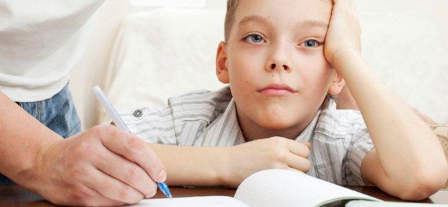 Errores al hacer los deberes con los hijos