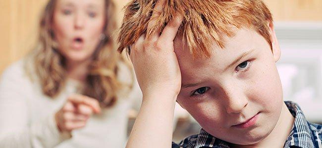 Si el padre es muy estricto, el niño será mentiroso