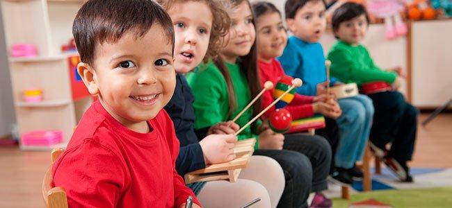 Cuándo estudiar musica en la infancia