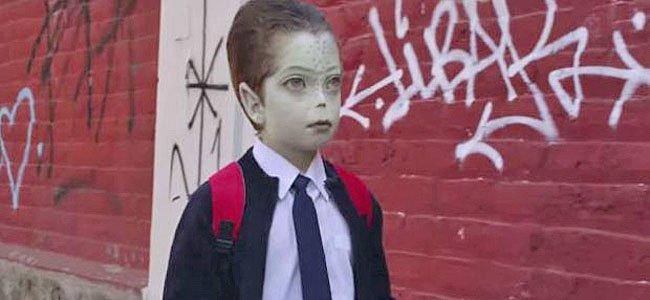 Niño extraterrestre