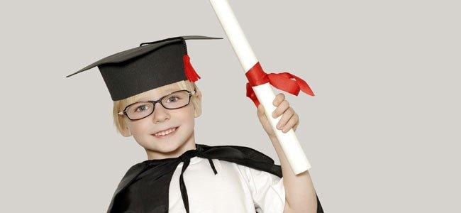 Función de fin de curso para los niños