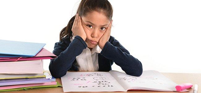 Por qué fracasan los niños en los estudios